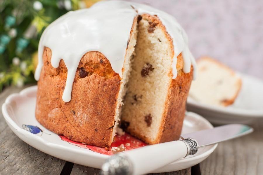 Кулич с изюмом в хлебопечке рецепт с фото - 1000.menu