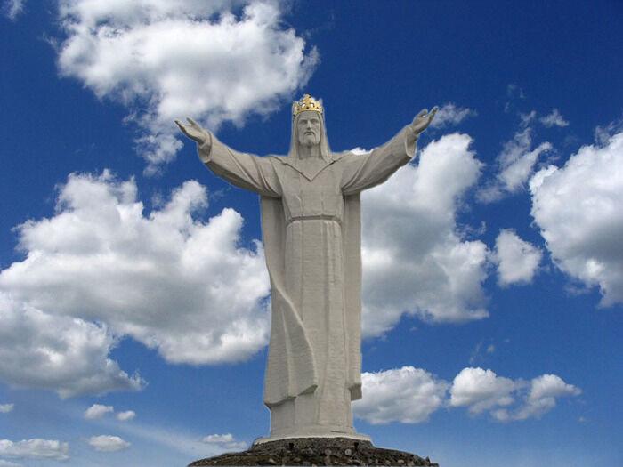 статуя христа искупителя (главный ключ)