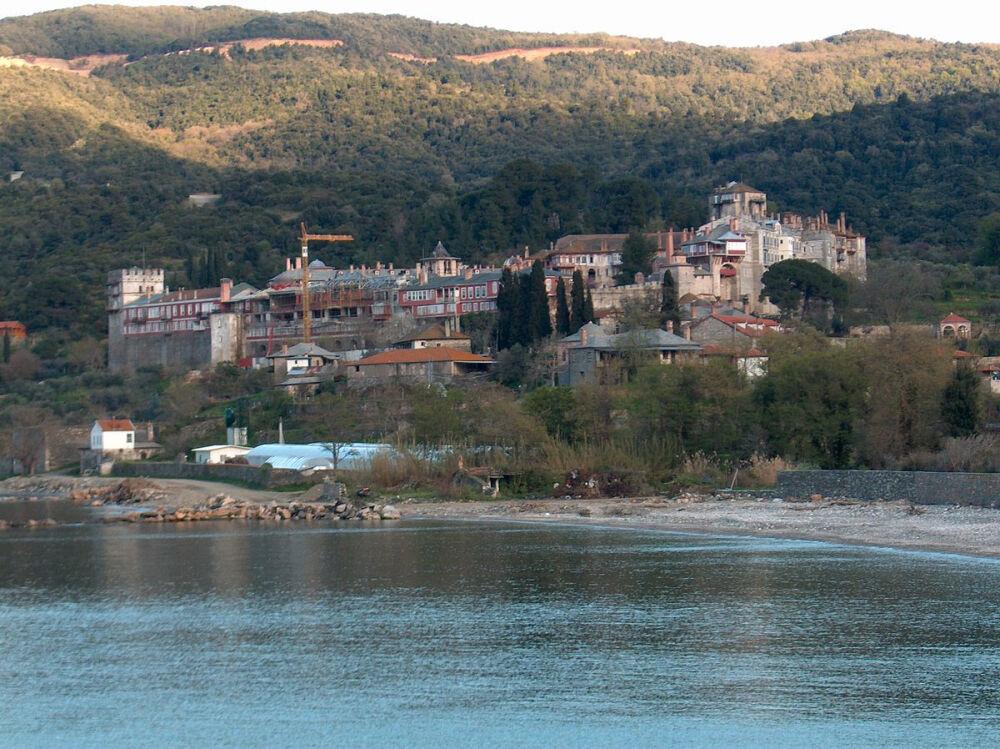 афонский монастырь в греции