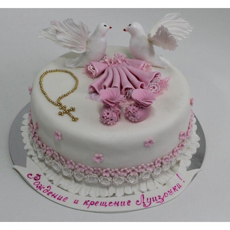 ☆Детский торт Крестины 4. Созвездие сладостей