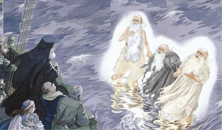 молитва трех старцев