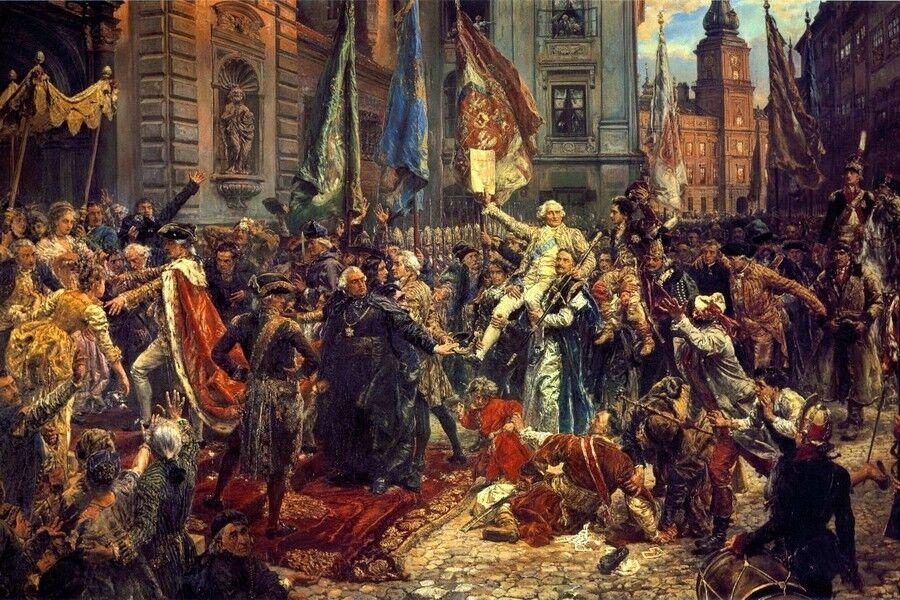 Подписана Люблинская Уния. Между Польшей и Княжеством Литовским
