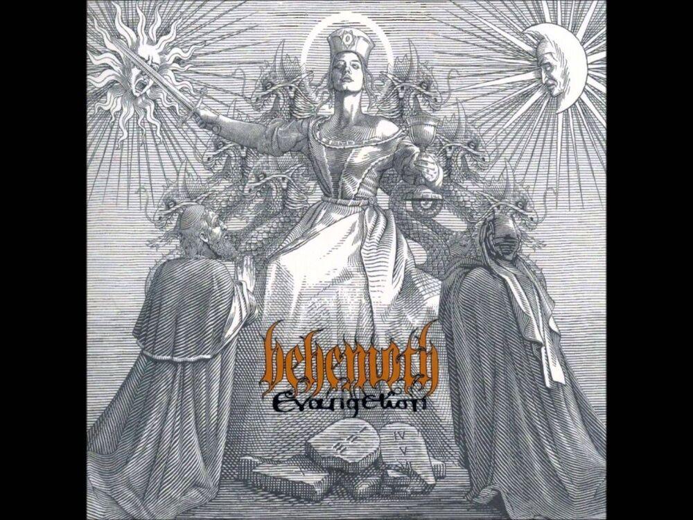 Band: Behemoth. Album: Evangelion   Album Art   Pinterest   Album ...