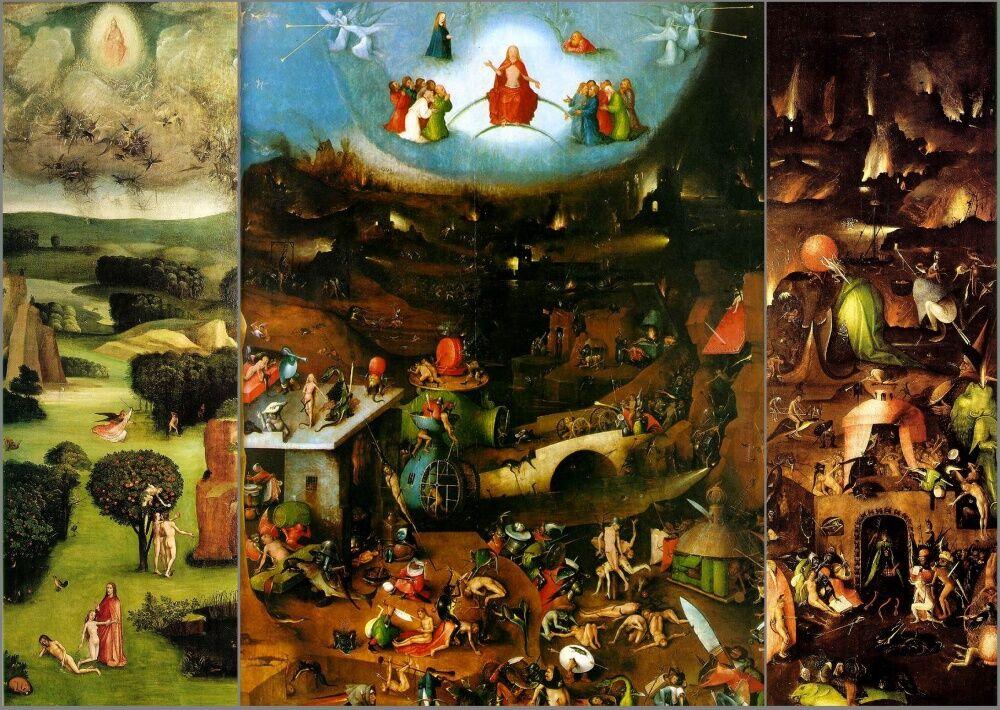 Триптих «Страшный суд» — Artrue