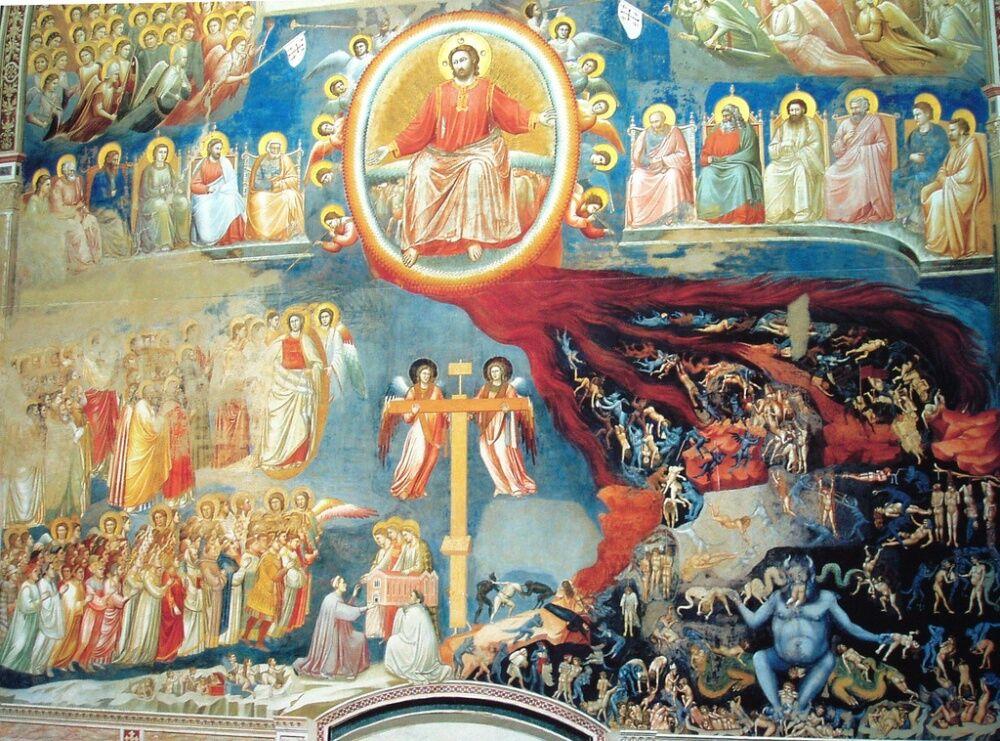Страшный Суд-Джотто (Giotto)- The Terrible Court   A fragmen…   Flickr