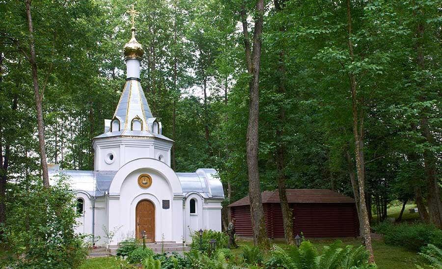 Жировичский старый источник   Фотоэнциклопедия Беларуси