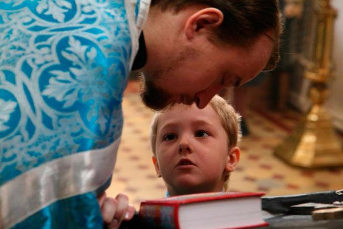 Ребенок на исповеди