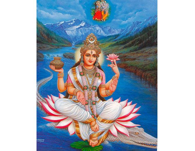 Жена бога Шивы