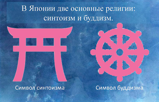 Синтоизм и будизм