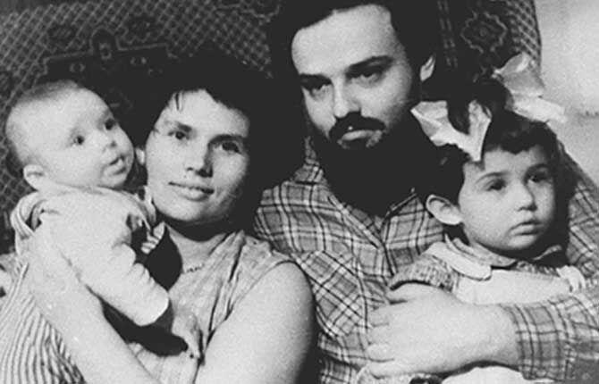 Семья Андрея Ткачева