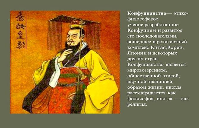 Учение конфуцианство